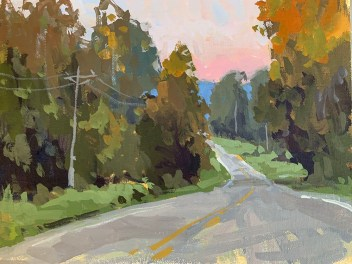 All roads lead home to Newnan, Georgia, where Boyd's paintings can be seen in his studio and gallery, in addition to Spalding Nix Gallery in Atlanta.
