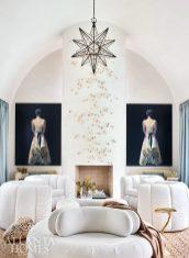 white furniture in pool lounge