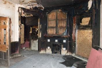 The house required significant efforts to not only salvage the original architecture, but also upgrade electrical, plumbing, mechanical and communications systems throughout the property.