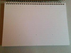 Blank Marking a Blending Book