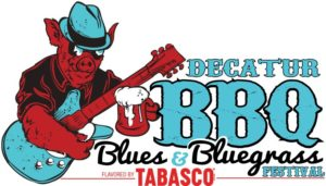 DECATUR BBQ BLUES & BLUEGRASS FESTIVAL logo