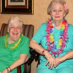 Atlanta senior residents enjoy musical performance.