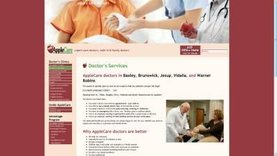 AppleCare Doctors Website Design