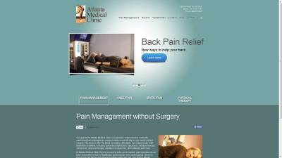 Atlanta Medical Clinic Website Design
