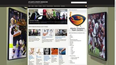 Atlanta Sports Medicine Website Design