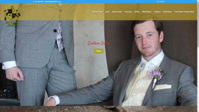 Atlanta Tailor St. Marc Website Design