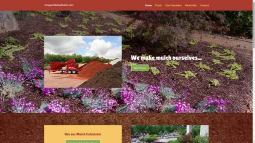 Atlanta Mulch Website Design