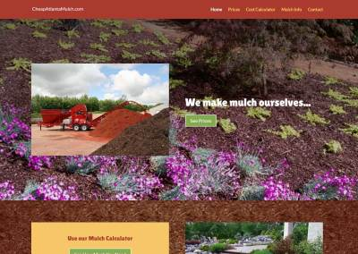 Atlanta Mulch Website Design