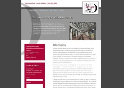 Diwan Law Firm Website Design