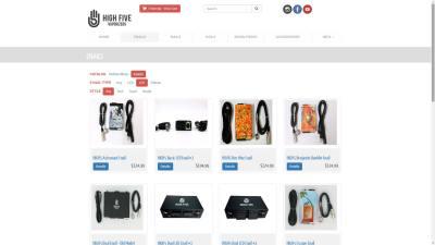 High Five Vape Website Design