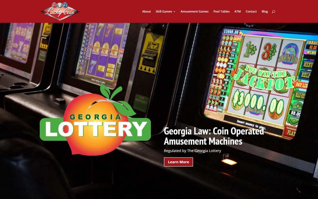 Lucky Coin Inc. Website Design