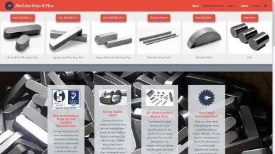 CTS Machine Key Web Design