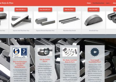CTS Machine Key Web Design