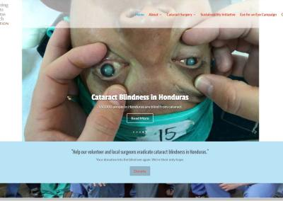 Operation Echo Non-Profit Website Design