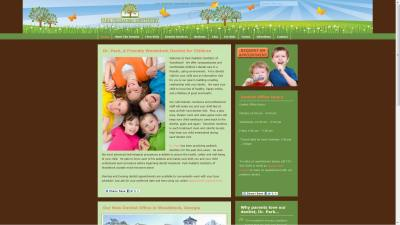 Dentist: Park Pediatric Website Design