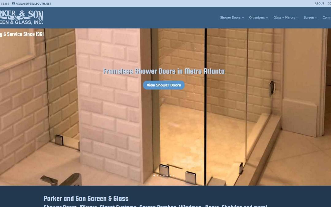 Parker and Son Website Design