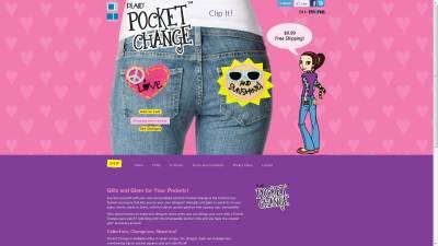 Pocket Change Website Design