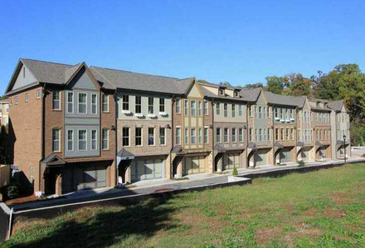 Buckhead Townhomes Located In City Park Community