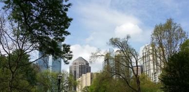 City Of Atlanta Taken From Piedmont Park