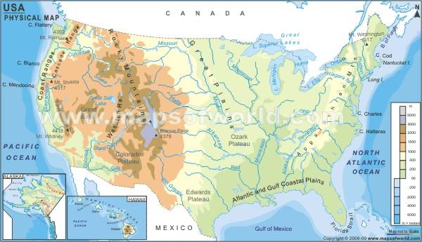 Cartina Muta Delle Americhe.Stati Uniti Cartina Fisica Usa Mappa Fisica Fisica Mappa Degli Stati Uniti America Del Nord America Un Grazie A Tutti I Docenti Che Hanno Partecipato A Questa Iniziativa Lice