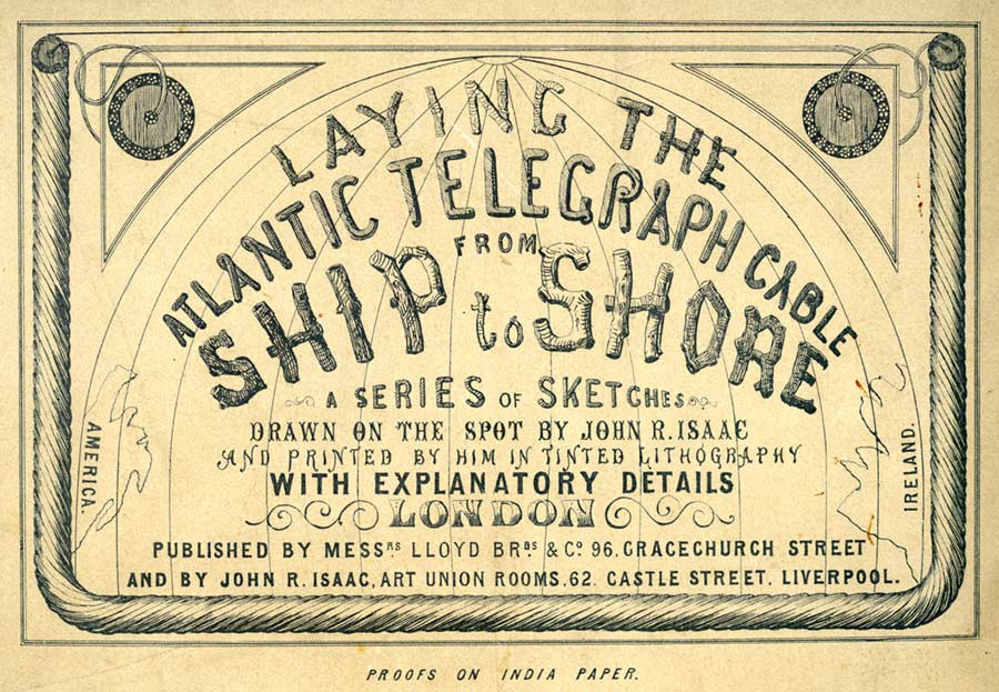 Image result for first 'official' transatlantic telegraph was sent by Queen Victoria to the American President, James Buchanan.
