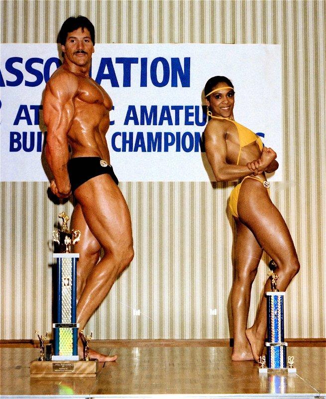 1982 Atlantics Moe LeBlanc & Debbie Howe