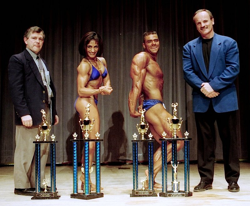1998 Atlantics Len Collette, Fitima Hanna, Mike Griffin & Garry Bartlett