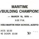 1978 Atlantic Ticket