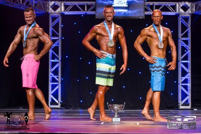 J-Master 40+ Mens Physique Top 3