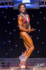 R-Candice McLean Womens Physique OPEN Winner