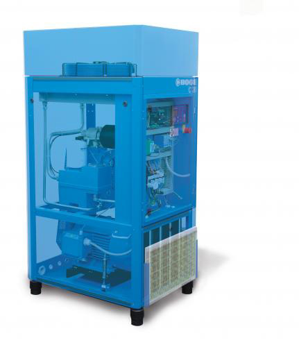 "Boge ""C"" Series Rotary Screw Compressors -  Efficient, reliable 15-30 hp compressors."