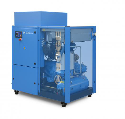"Boge ""S"" Series Rotary Screw Compressors -  Efficient, reliable 40-350 hp compressors."