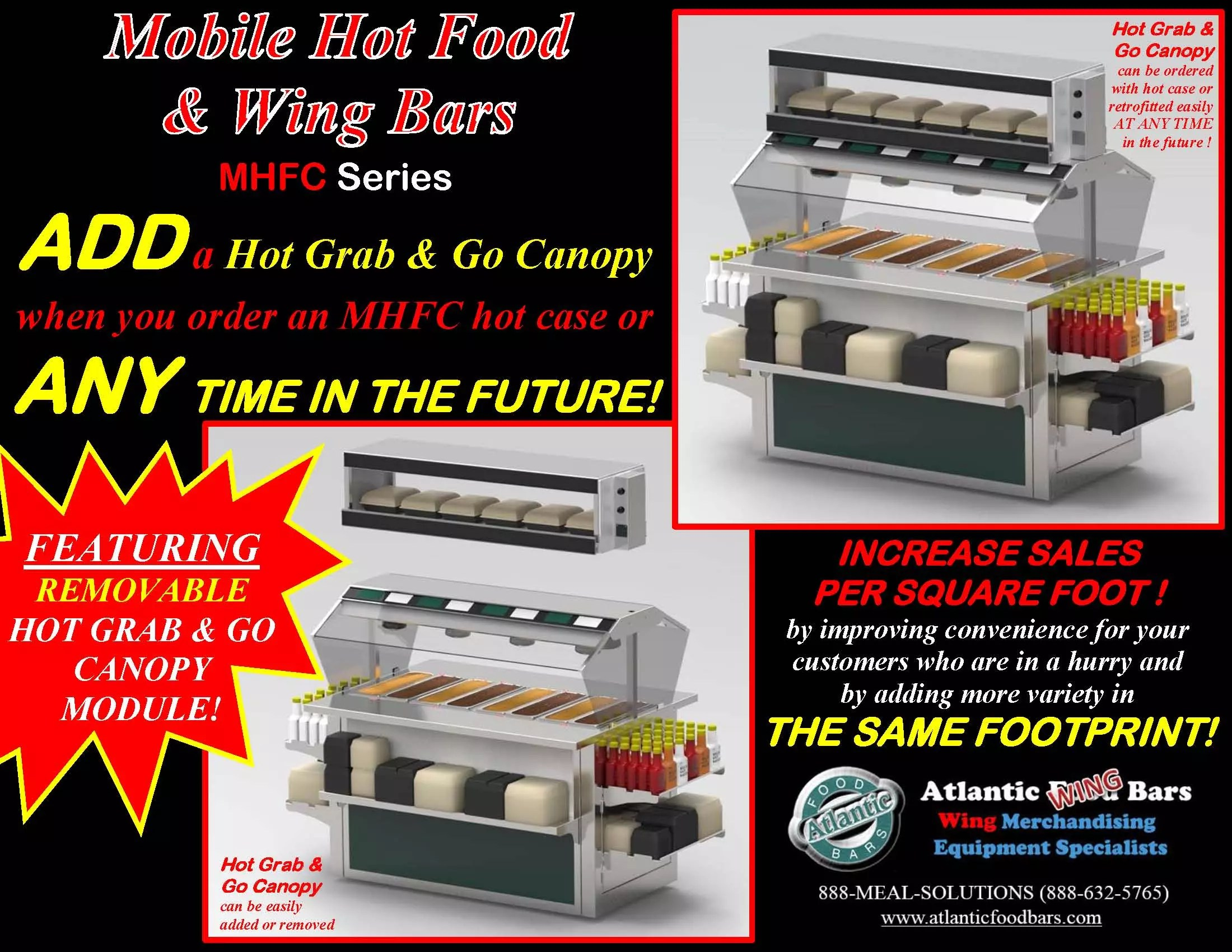 Atlantic Food Bars - Hot Grab and Go Top Canopy Module for Mobile Hot Food Bar - HFCCN_Page_1