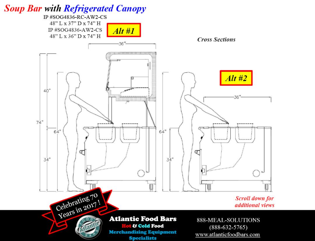 Atlantic Food Bars - Hot and Cold Display Case Lineup Drawings - BILR SOG ISHFB_Page_5
