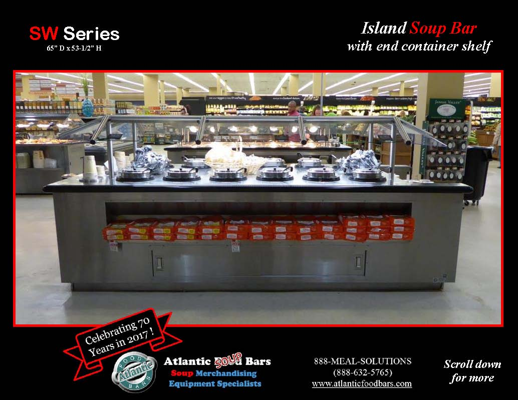 Atlantic Food Bars - Island Soup Bar with End Container Shelf - SW_Page_2