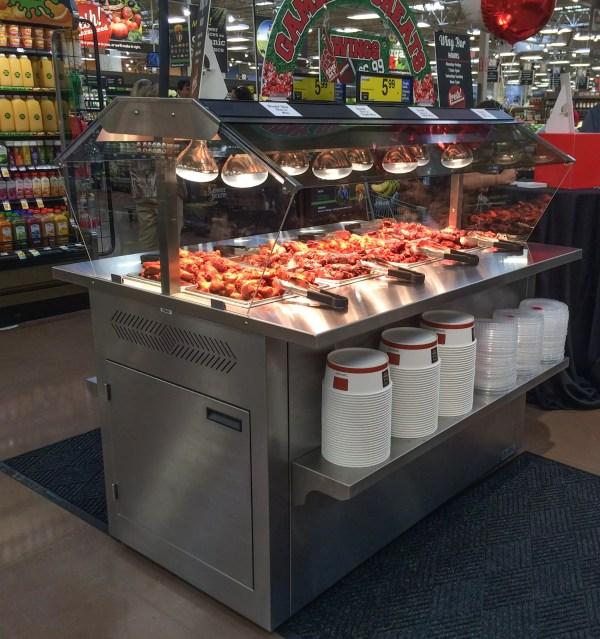 Mobile Hot Chicken Wing Bar - Atlantic Food Bars - MHFC6044 1
