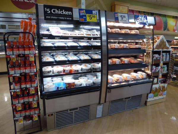 Combination Hot and Cold Packaged Food Merchandiser - Atlantic Food Bars HCI7872 1