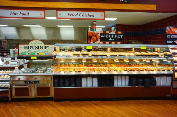 Hot Food Lineup - Soup's On Merchandiser and Combination Hot Bulk and Hot Packaged Food - Atlantic Food Bars - WRGCL4837 SOG4836