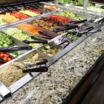 Stainless Steel Food Pans featuring Flange-Free Design on Long Sides, NSF Rounded Corners, and Finger Tabs - Atlantic Food Bars 4