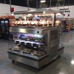 Combination Hot Over Cold Grab & Go Merchandiser - Double Sided - Atlantic Food Bars - HCIT4862-LP 1