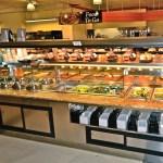 Custom Nantucket - Combination Island with Hot Packaged Food Over Hot Bulk Food, Hot Soup and Salad Bar - Atlantic Food Bars 1