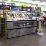 End Cap Olive Bar with Flat Pan Rail - Atlantic Food Bars - SB7236N7 1