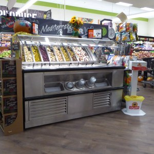 End Cap Olive Bar with Flat Pan Rail - Atlantic Food Bars - SB7236N7 1