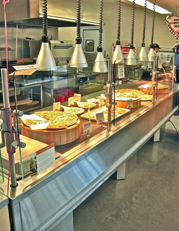 Full Service Hot Bistro Merchandiser on Pedestal Base - Atlantic Food Bars - IPS14436-P 3