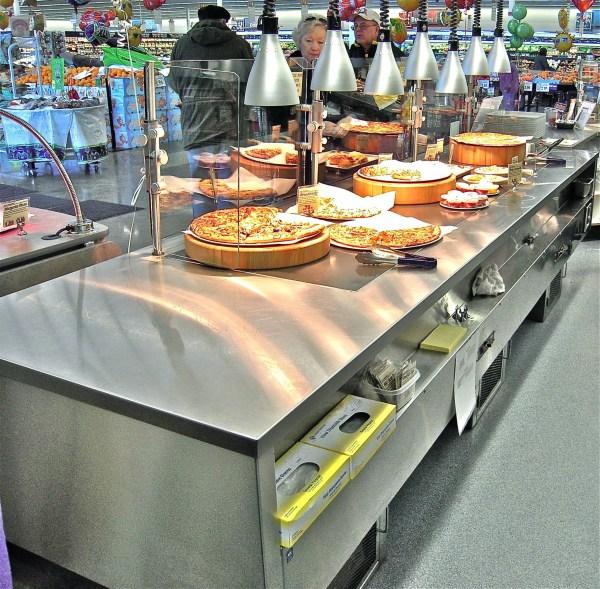 Full Service Hot Bistro Merchandiser on Pedestal Base - Atlantic Food Bars - IPS14436-P 5