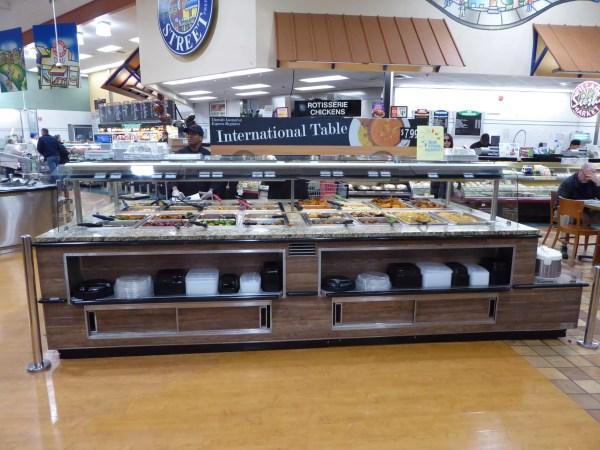 Island Hot Food Bar with Induction Hot Wells - Atlantic Food Bars - IHFB12666-IHW 6