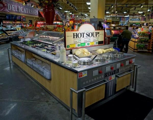 Island Salad Bar with Soup's On End-Cap Soup Merchandiser - Atlantic Food Bars - ISB14267 SOG6529-EN 3