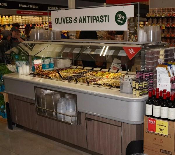 Narrow Air Underflow Refrigerated Island Salad & Olive Bar - Atlantic Food Bars - CISB7352 4