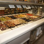 Narrow Air Underflow Refrigerated Island Salad & Olive Bar - Atlantic Food Bars - CISB7352 5