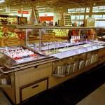 Narrow Island Salad Bar with Tray Slide - Atlantic Food Bars - ISBN8744-TS 5